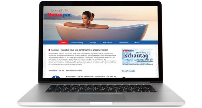 Profi Homepage Konstanz Screen