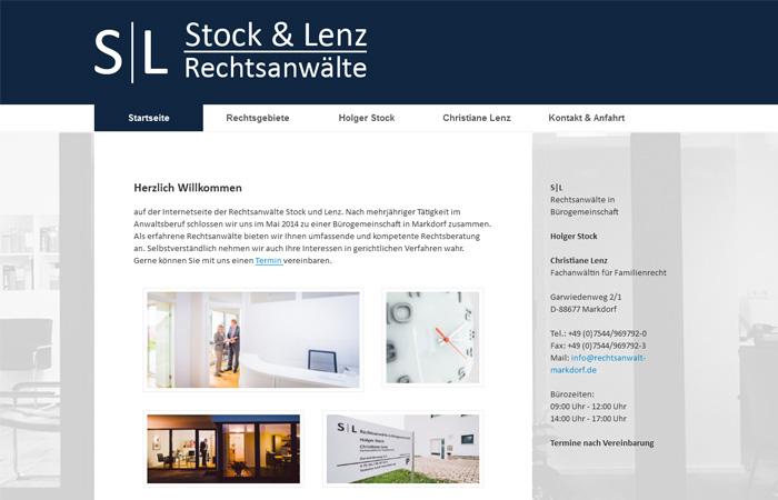 Beispiel Bildgestaltung Rechtsanwalt Website