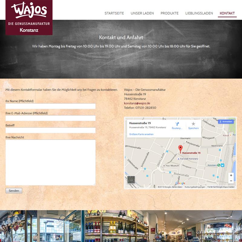 Blogbeitrag-erfolgreiche-Homepage-Beispielwebsite-Wajos