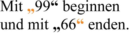 Typo Grafiken Anfuehrungszeichen