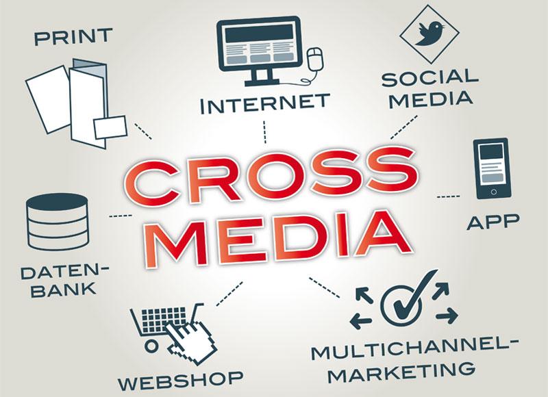 Crossmedia - Profi-Homepage