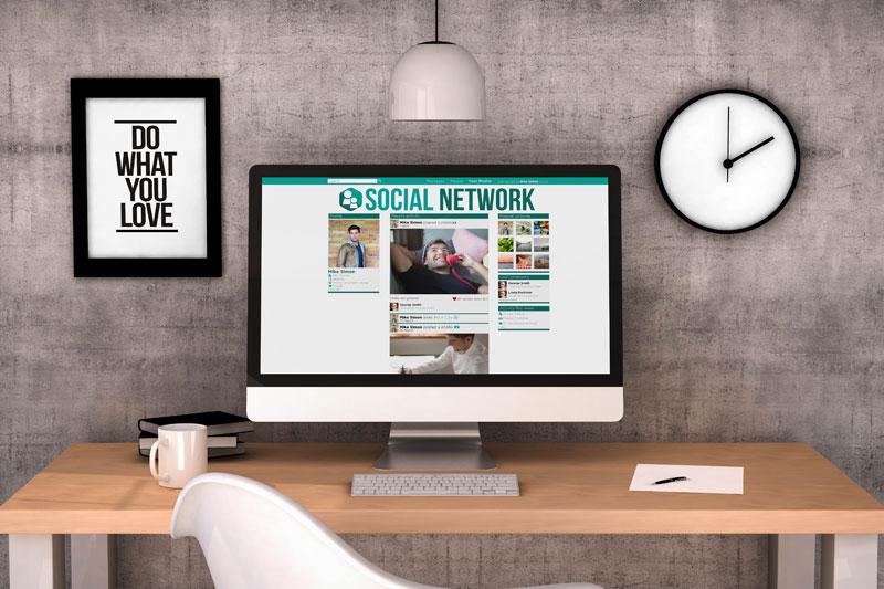 Social Network - Profi-Homepage