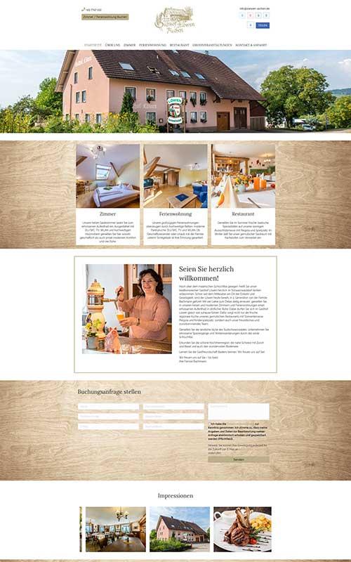 profi-homepage_Landgasthof-Löwen_Gastronomie