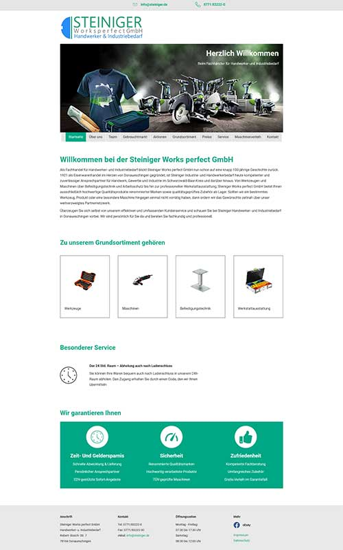 profi-homepage_Steiniger_Handel