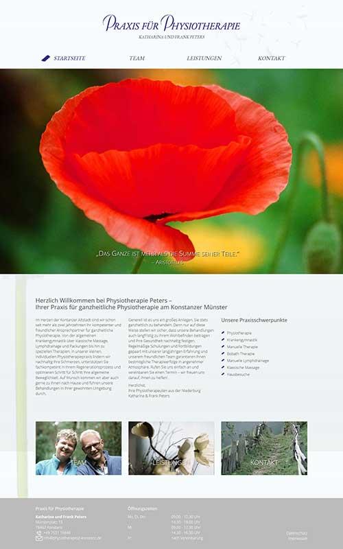 profi-homepage_praxisfuerphysiotherapiePeters_Gesundheit