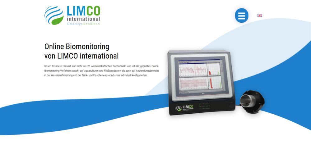 Webdesigntrends - Screenshot Limco international