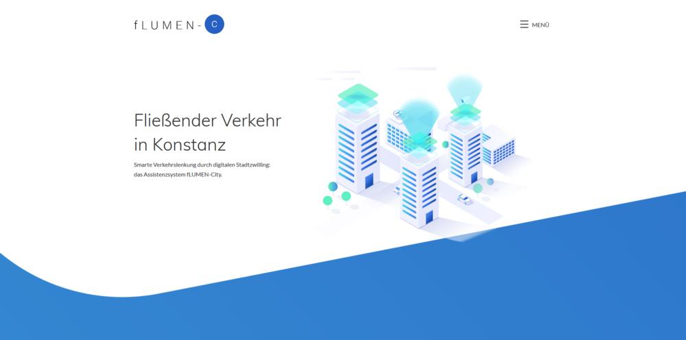 Webdesigntrends - Screenshot flumen city