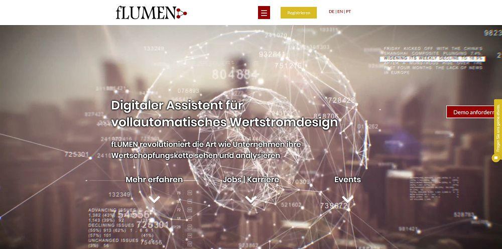 Webdesigntrends - Screenshot flumen